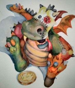 Stuffed Dragon