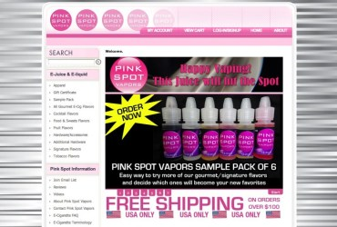 Pink Spot Vapors Review Title Image