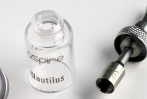 nautilus aspire review tank detail