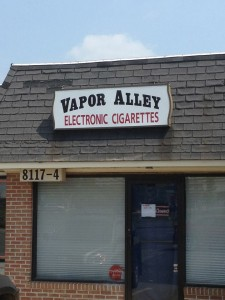 vaporalley storefront