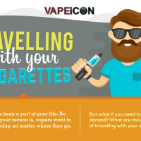 Travelling with your Vape Gear [Infographic]