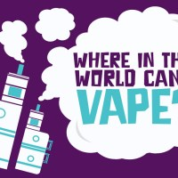 Where in the World Can I Vape? A Traveller's Guide [Infographic]