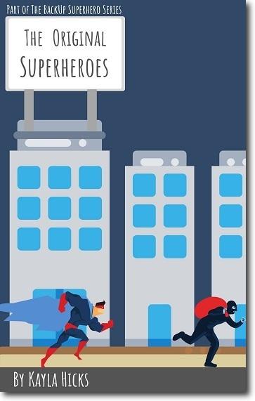 Original Superheroes Cover
