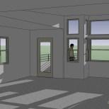 artist studio interior steve wallet architect 9-3-2009