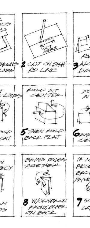 schindler mini-comic assembly instructions steve wallet architect 5-19-2013