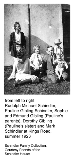 schindlers and chases at kings road, 1923
