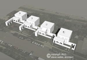 steve wallet architect Gill blocks Cossitt blocks aerial 2015-6-17