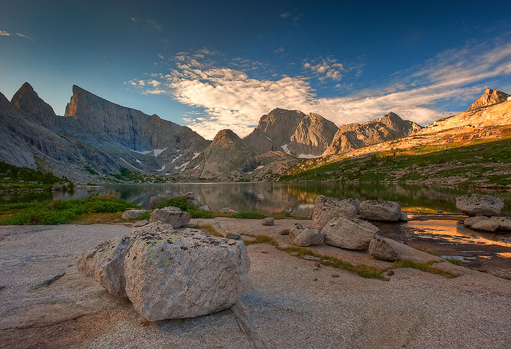Temple and East Temple Peaks, Wind River Range   ©Stephen Weaver