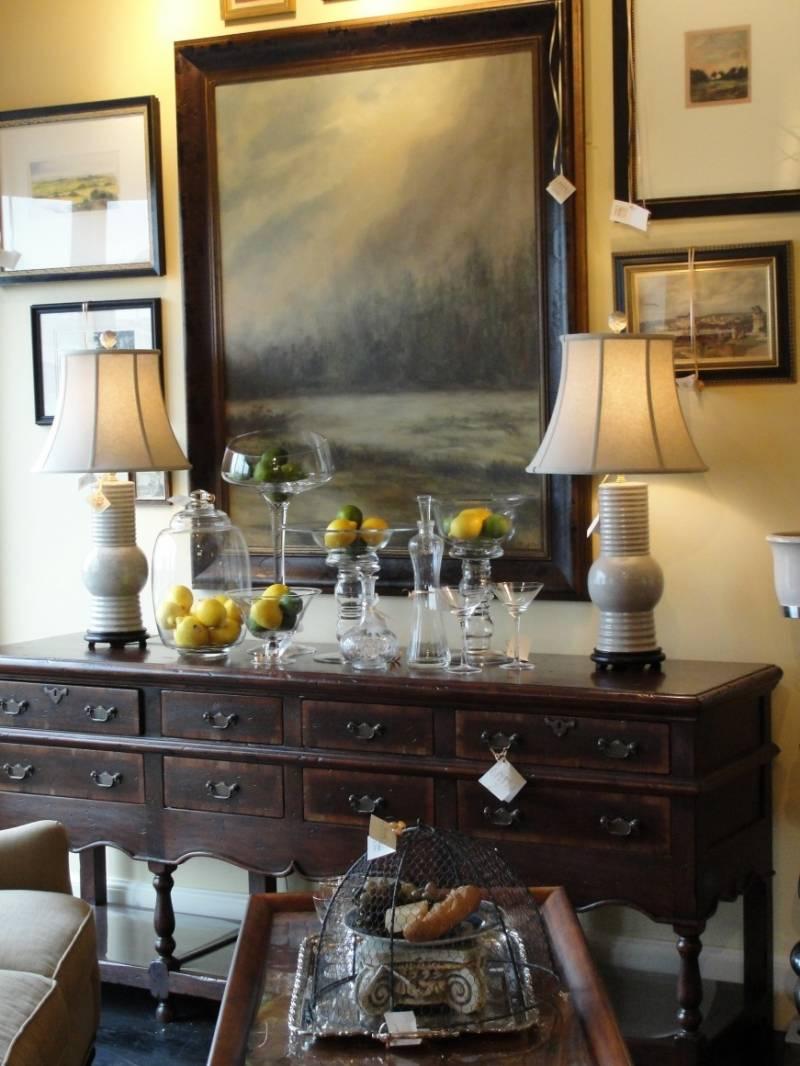 Modern Dining Room Buffet Table Decor Ideas Novocom Top