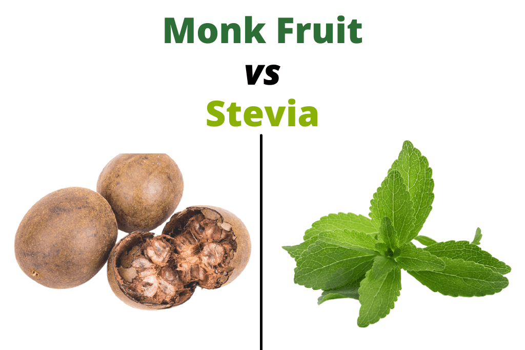 Which sweetener is better – Monk fruit or Stevia?