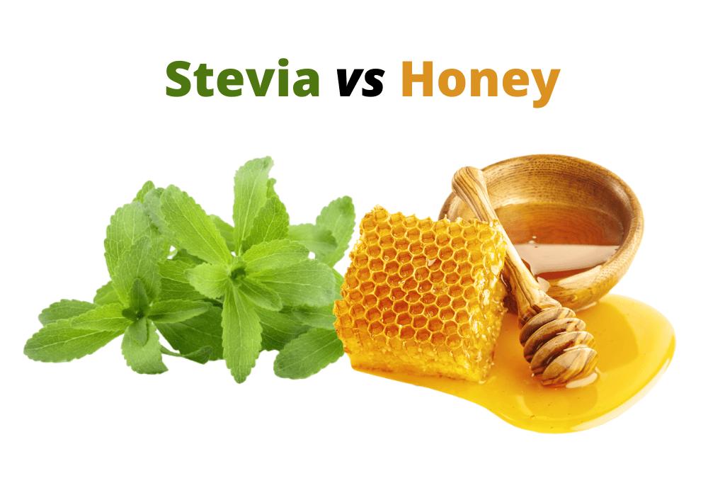 Is honey better than stevia?
