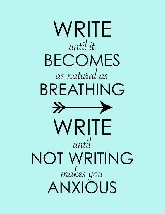 Writing Wednesday: Writer's Inspiration