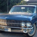 Brandon Friesen's Blue Cadillac