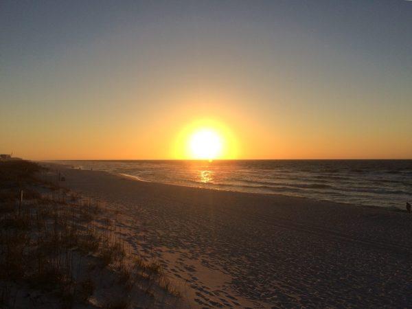 sunrise pensacola beach