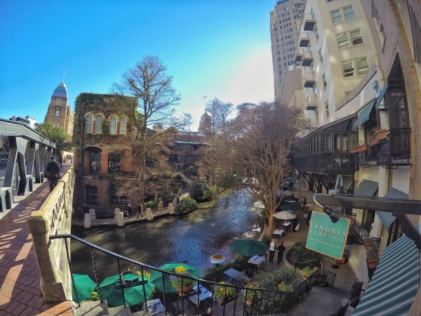 GoPro river walk san antonio