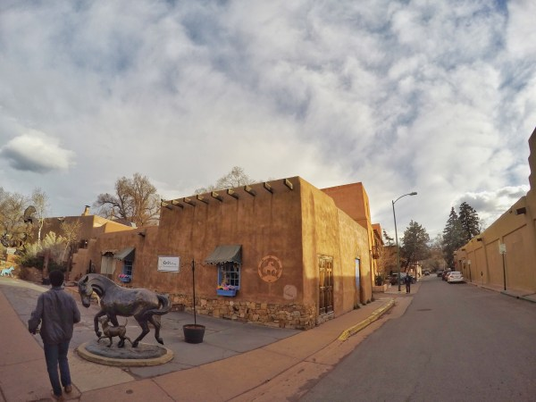 Downtown Santa Fe New Mexico