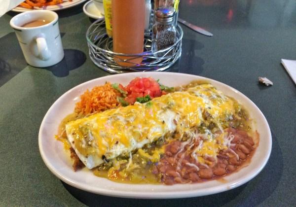 Burrito in Santa Fe