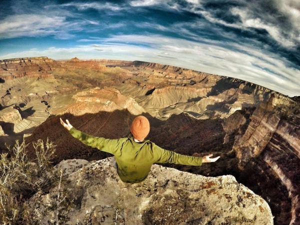 Photo of the south rim of the grand canyon, arizona