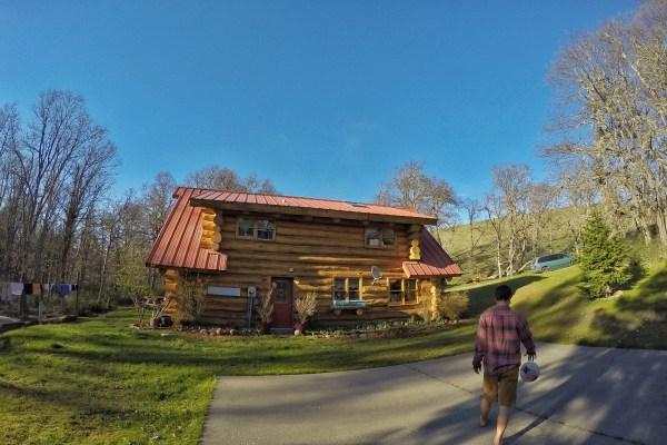Cabin in Lyle, Washington