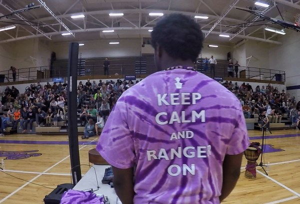 Photo of the Park High School t-shirt saying keep calm and ranger on in Livingston, Montana