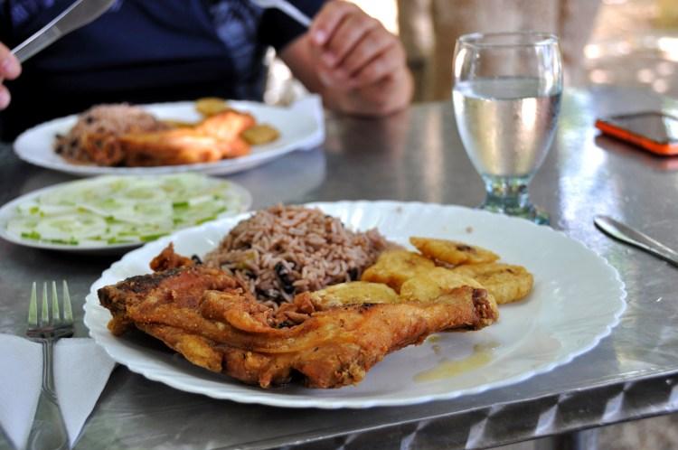 Photo of a typical cuba dish in Nueva Gerona, Cuba by Stevie Vagabond