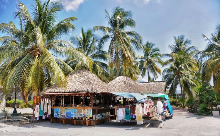 photo of the market in Cayo Largo, Cuba