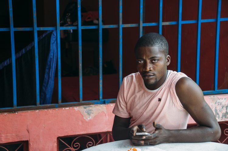 Photo of a African in Costa Rica