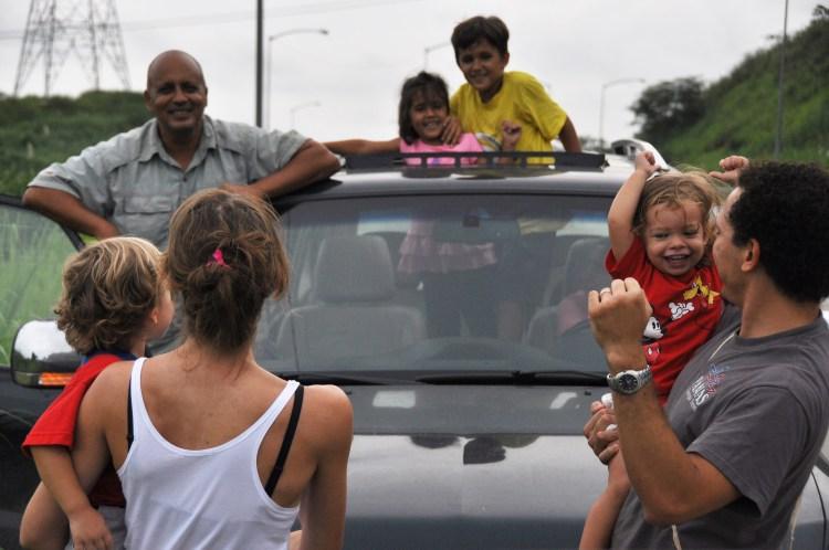 Photo of a family in Panama City, Panama