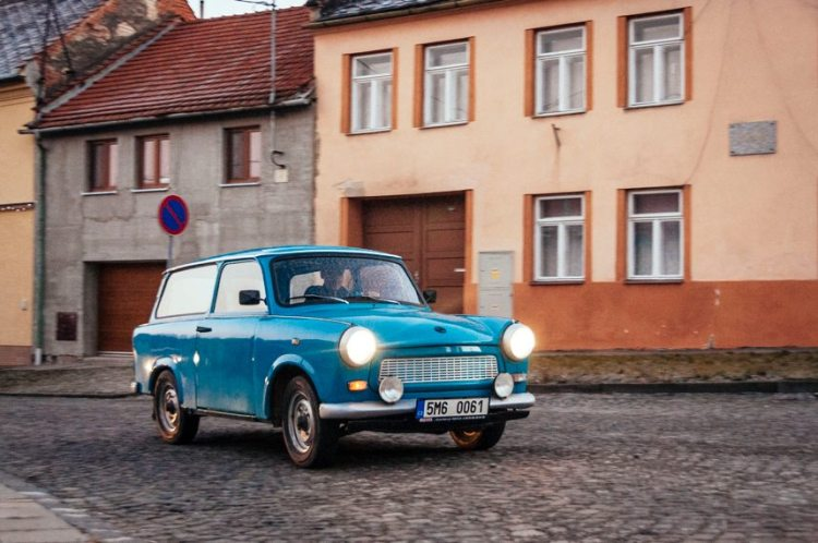 old car in the czech republic