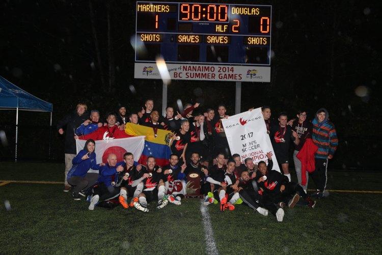 VIU mariners CCAA National Champions 2017