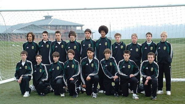 green and gold academy at Middlesbrough