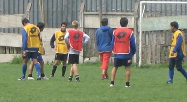santiago morning soccer training session with stephen ewashko