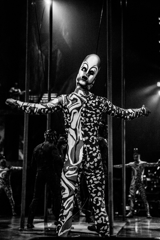 Performer in Cirque du Soleil Mystere at Treasure Island in Las Vegas. Photo by Stevie Vagabond.