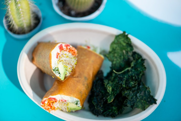 The Raw Wrap with Kale Chips by The Raw Machine