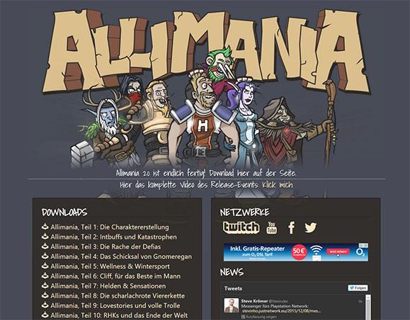 Allimania_Seite