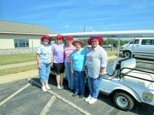 Red Hat Society - Mt Carroll, IL