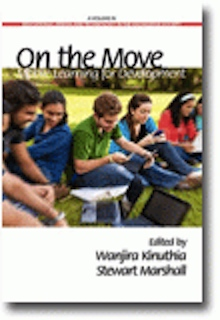 """image of book """"On the Move: Mobile Learning for Development"""""""