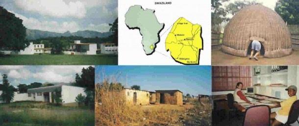 Montage of Swaziland photographs