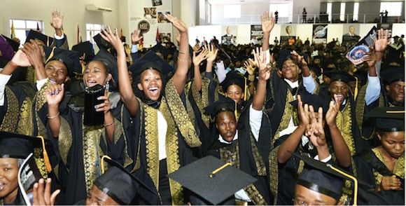 Limkokwing University of Creative Technology (Botswana) 2014 Graduation