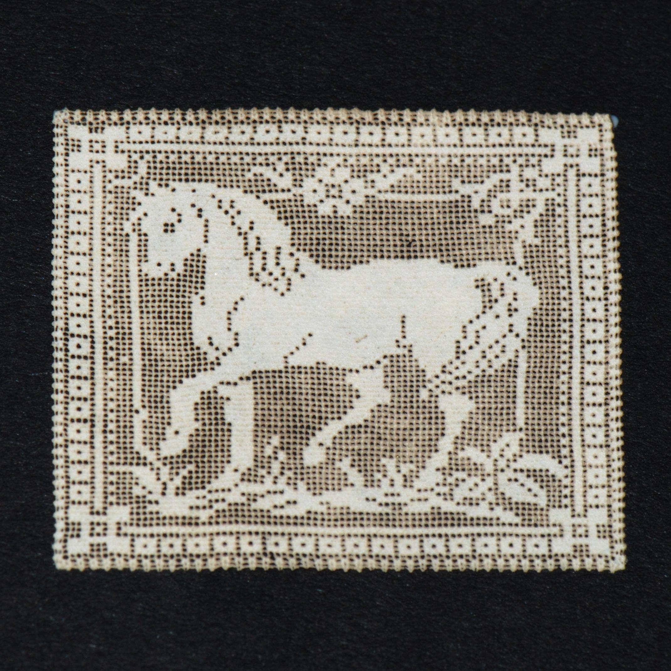 Horse Antique Laser Cut Doily 101 Stewart Dollhouse