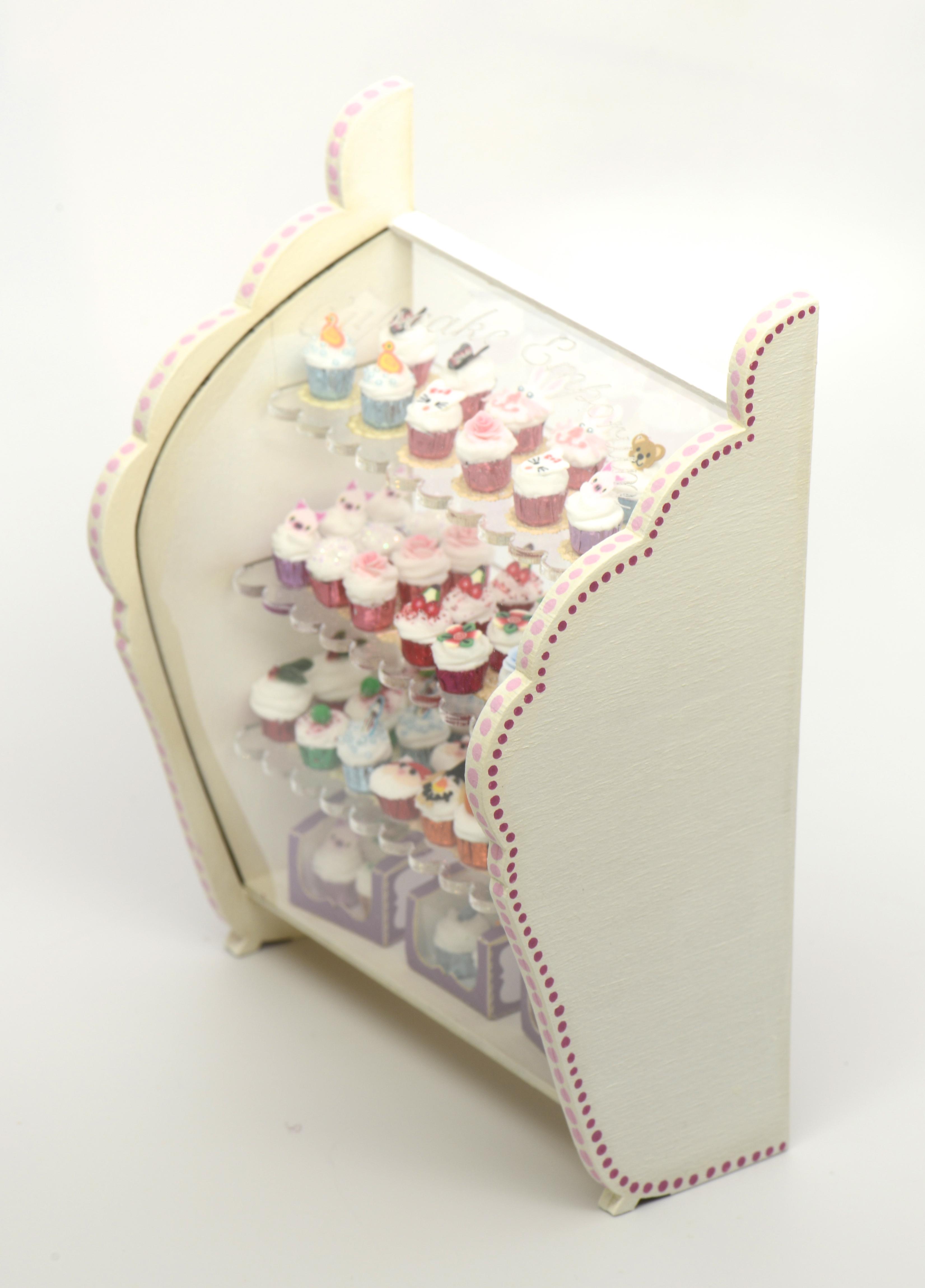 Complete Cupcake Emporium Kit Stewart Dollhouse Creations