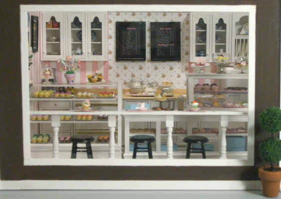 Cupcake Shop 4 Stewart Dollhouse Creations