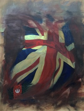 UK and Afghanistan Flags No 1