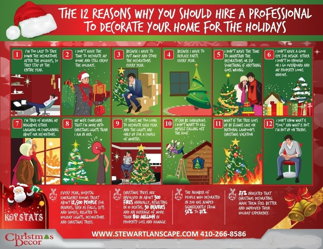 Holiday Decorating Services | Stewart Lawn and Landscape