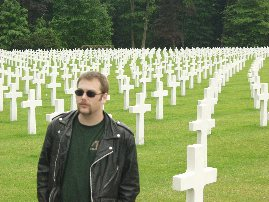 Gazoo at Hamm (Luxembourg) U.S. Miltary Cemetary with the Fu Man Chu Stash