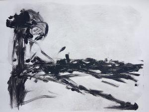 Empty Landscape III, Monoprint, 2019. £30