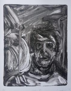 Selfie IV, Monoprint, 2019, £50