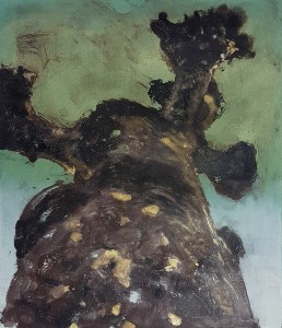 Stump #119, Monoprint, 36cm x 30cm, £120