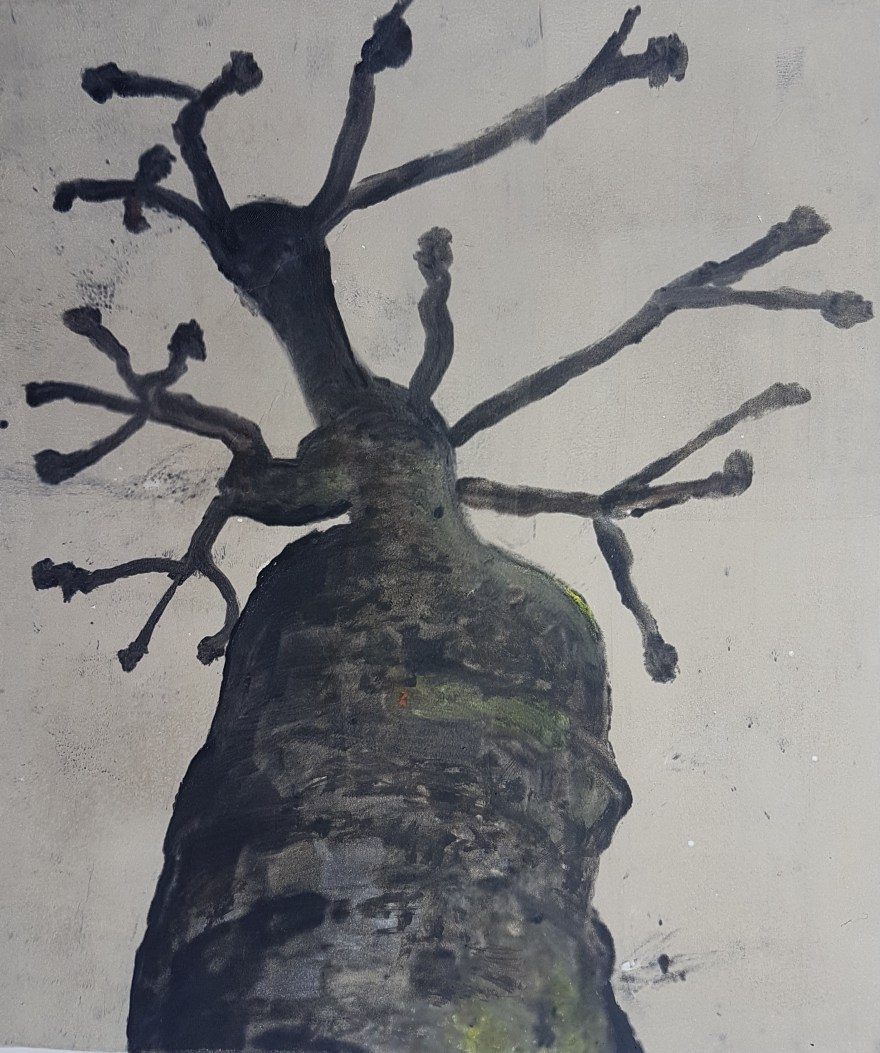 Stump #56, Monoprint, 36cm x 30cm, £70