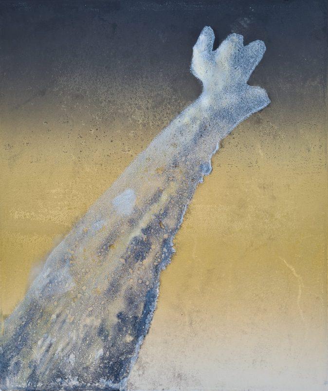 Stump #189 (Ghost), Monoprint, 36cm x 30cm, £120
